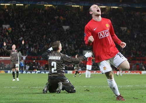 87-曼联vs阿尔堡 欧冠 2008-12-10图片
