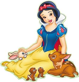 精彩花絮     白雪公主———白雪   卡通人物原型:   著名童话人物.