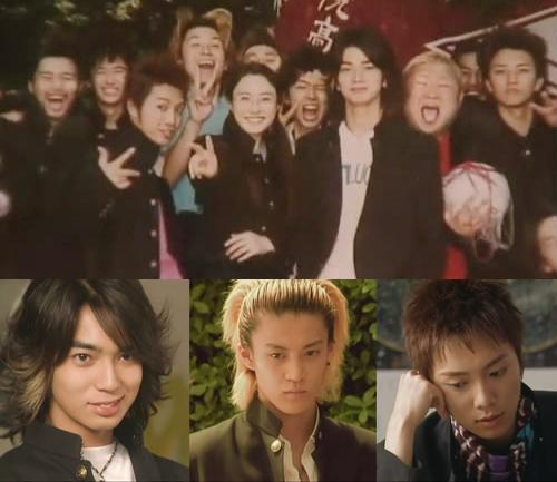 《极道鲜师》第一季由松本润,小栗旬,成宫宽贵参演