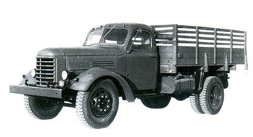 老式卡车_解放ca30越野卡车