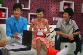 图:《一起来看流星雨》 主演做客搜狐―― 1
