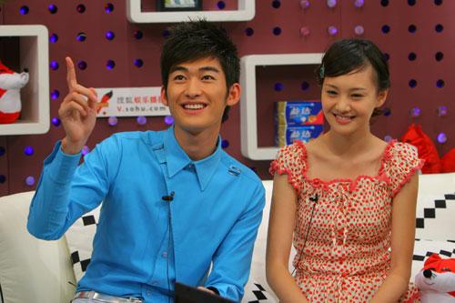 图:《一起来看流星雨》 主演做客搜狐―― 2