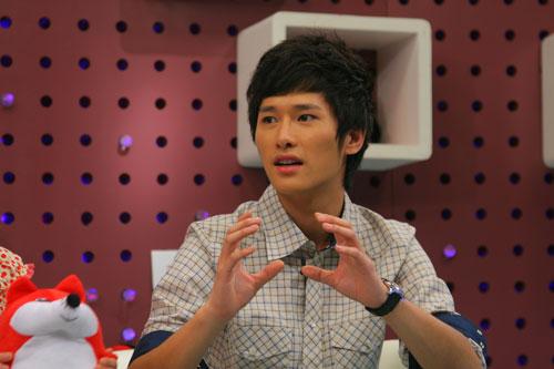 图:《一起来看流星雨》 主演做客搜狐―― 8