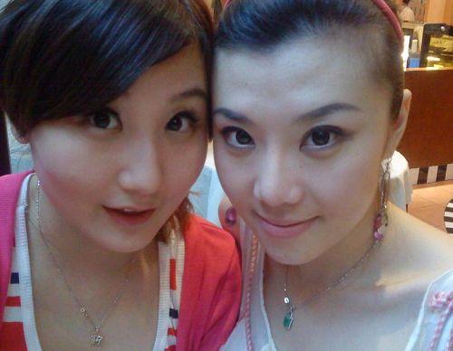 两个美女大头照