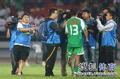 图文:[中超]北京1-1山东 徐云龙赛后接受采访