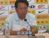 图文:[中超]杭州2-1大连 周穗安出席发布会