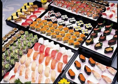 孙楠、买红妹――都泰国际连锁海鲜寿司