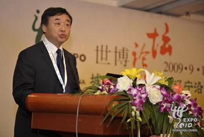 中国贸促会副秘书长于晓东演讲
