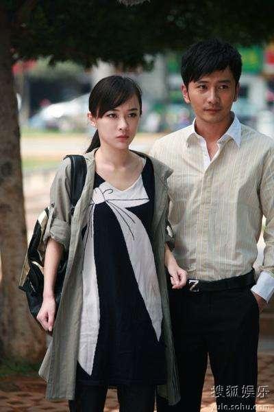 霍思燕与刘恩佑(右)在《孽缘》中对戏