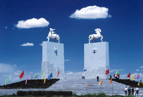 地标评选之内蒙古:成吉思汗陵