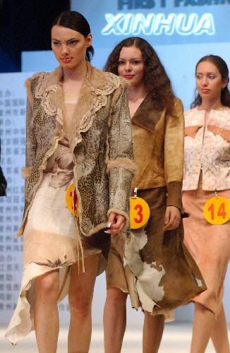 西方模特来中国淘金 俄罗斯美女表现最抢眼组图