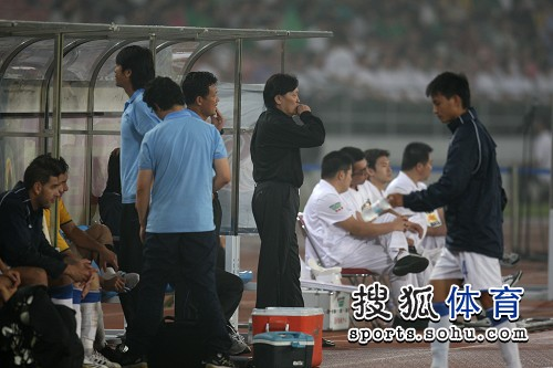 图文:[中超]北京1-0陕西 朱广沪指挥