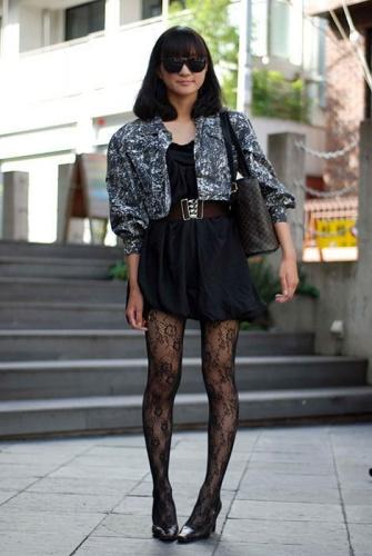 黑色,穿搭,今年,最有型,显瘦,超抢眼,时尚,服装