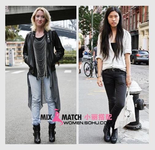 裤装 长裤 及踝长裤 时尚 搭配 秋装 换季