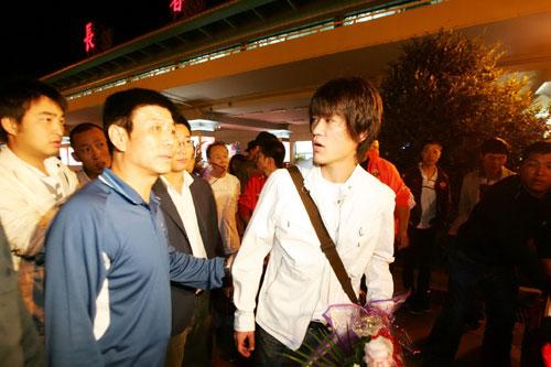 图文:王栋回长春有望重战中超 欲返中超赛场