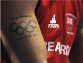 图文:拳击世锦赛战况图集 英国选手的08奥运纹身