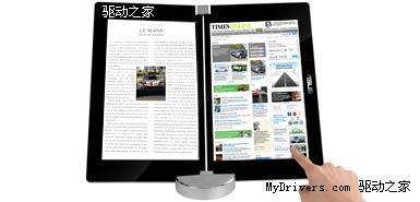 华硕电子书定名Eee Book 采用双屏显示