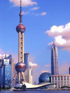 地标评选之上海 东方明珠电视塔图片