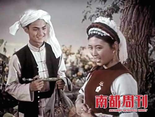 1959年《五朵金花》