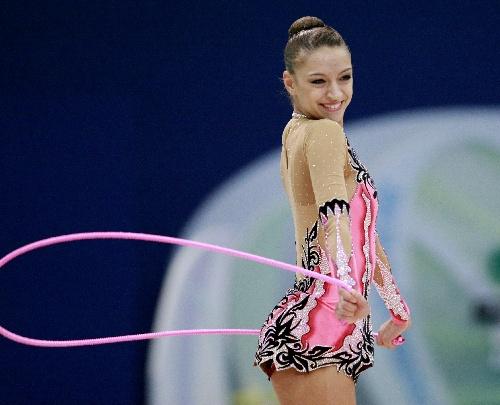 俄罗斯选手卡纳耶娃美丽让人心动