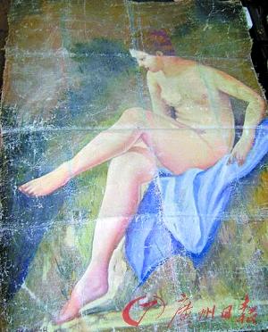 毕加索名画 裸女高清图片