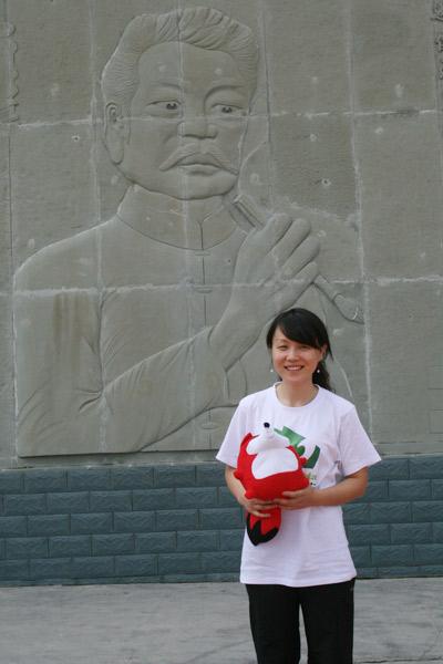 """搜狐教育专访""""烛光行动 教师社会责任行""""新东方公益明星--刘寅"""
