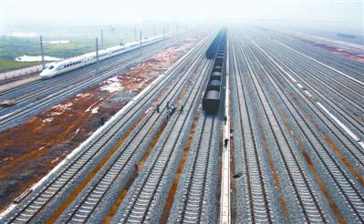亚洲无码区大于500_亚洲最大的火车编组站——武汉北站