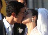 组图:童话般婚礼 比利时王子迎娶米兰老板教女