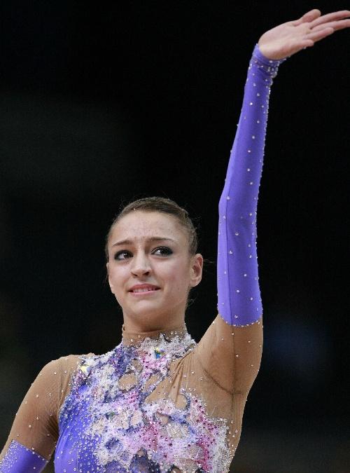 卡纳耶娃 艺术体操卡纳耶娃