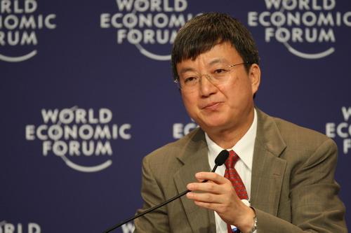 中国银行集团常务副行长朱民 搜狐-崔萌/摄