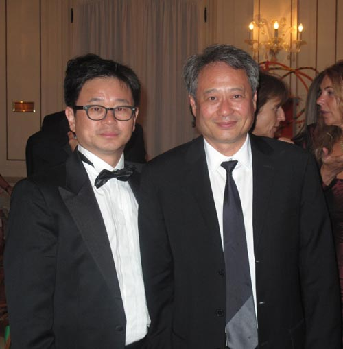 李安主席与中博传媒总裁陈伟