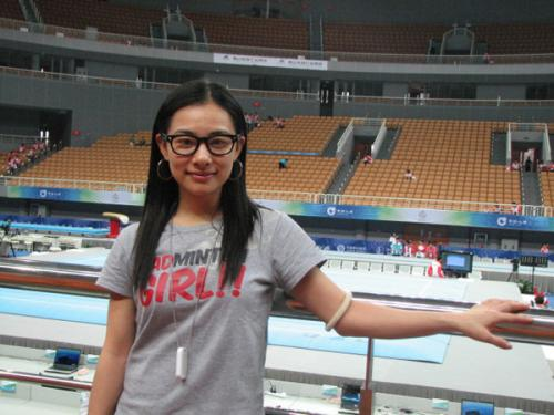刘璇在全运赛场