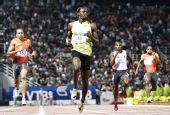 图文:总决赛博尔特200米夺冠 遥遥领先