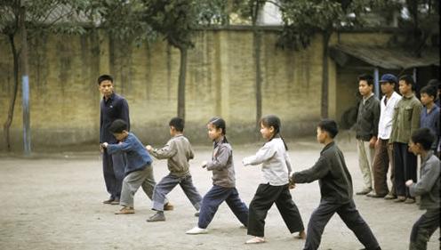 70年代体育课小学生v年代军体拳取消学籍初中被图片