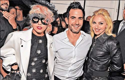 麦当娜和Lady GaGa斗美艳
