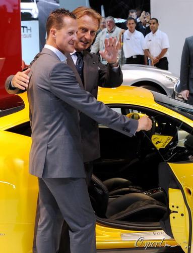 舒马赫与法拉利总裁