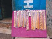 尼泊尔有种竹子领带(图)