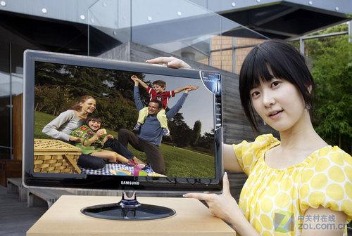 HDMI+电视功能 三星首款24.6液晶曝光