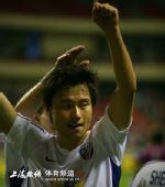 图文:[中超]上海4-0天津 感谢现场球迷