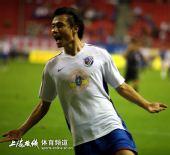 图文:[中超]上海4-0天津 进球原来这么容易