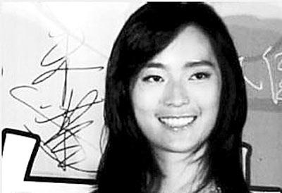 代表邓丽君到北京领奖的邓丽君侄女邓永佳(上图)首次曝光