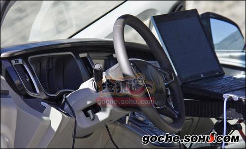 别克GL8内饰曝光 新车预计2011年上市高清图片