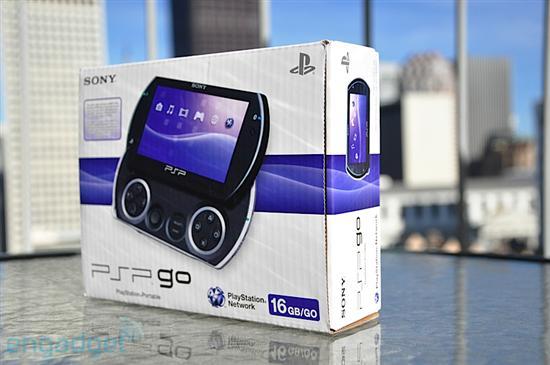 索尼PSPgo滑盖掌机开箱图片赏