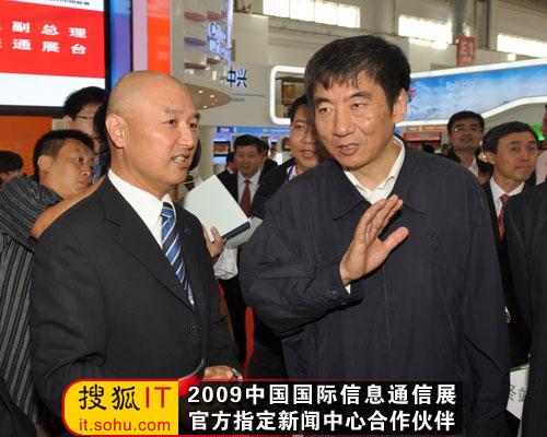 奚国华副部长表示TD-SCDMA发展要做好测试工作