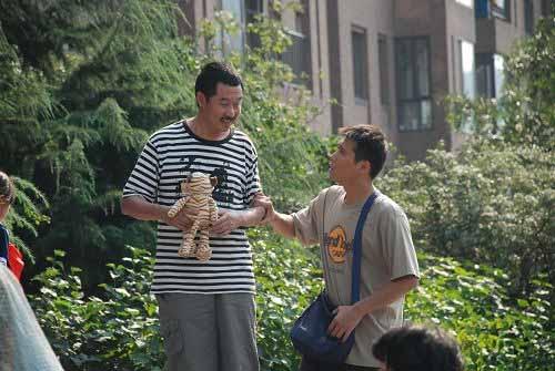 刘桦和李乃文的对手戏十分精彩
