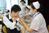 北京市率先开展甲型H1N1流感疫苗接种工作(图)