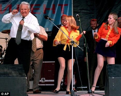 克林顿视频叶利钦玩具美女醉酒后仅穿爆料拦被糗事搞的内裤情趣陈年图片