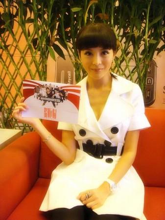 李鑫雨受邀出席《盗版猫》北京首映礼