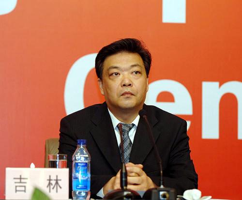 北京市委常委、常务副市长吉林。(人民网记者 何萌 摄)