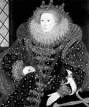 家称英国 童贞女王 实为男扮女装图片